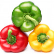 Paprika three colors. — Stock Photo