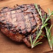 Beef steak. - Foto de Stock