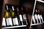 Butelek wina. — Zdjęcie stockowe