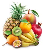 Exotic fruits — Foto de Stock