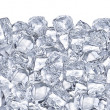 Foto Stock: Ice cubes.