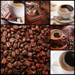 Collection of coffee. — Stock Photo