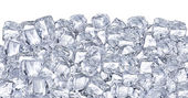 Ice cubes. — Stock Photo