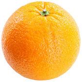 πορτοκαλί σε λευκό φόντο. — Φωτογραφία Αρχείου