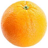 Orange on a white background. — Стоковое фото