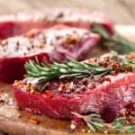 Beef steak. — Stock Photo