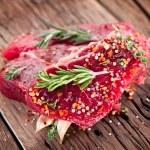 Beef steak. — Stock Photo #18689539