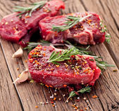 Beef steak. — Stockfoto
