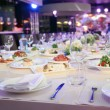 Abstract image of a celebratory table. — Stock Photo #19458323