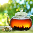 Teapot. — Stock Photo