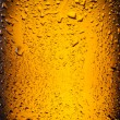 Drops on a bottle beer. — Stock Photo