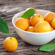 Tangerines in a bowl. — Stock Photo