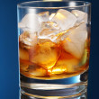 Stock Photo: Whiskey glass