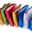 Colourful shopping bags — Stock Photo #23706755