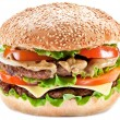 Stock Photo: Hamburger.
