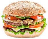 Hamburger. — Stock Photo