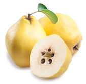 Quince with slices. — Stock Photo