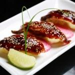 Sushi whith eel — Stock Photo