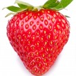One rich strawberry fruit isolated on a white. — Stock Photo #31955247
