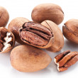 Pecan nuts. — Stock Photo