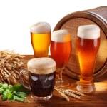 Stillleben mit einem Fass Bier — Stockfoto #36113823