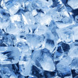 Photo of natural ice cubes. — Stock Photo