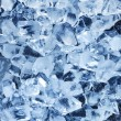 Photo of natural ice cubes. — 图库照片