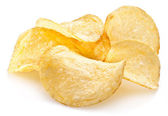 Potato chips. — Stock Photo