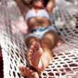 Young woman in hammock. — Stock Photo #37092241