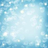 Christmas blue background. — Stock Photo
