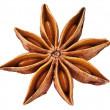 Anise star isolated on white background. — Stock Photo