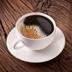 Cup of espresso coffee. — Stock Photo