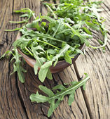 Arugula  herb. — Stock Photo