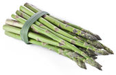 Grilled shoots of asparagus. — Stock Photo