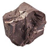 One chocolate block. — 图库照片