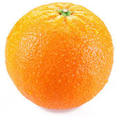 Orange isolated on a white background. — Stock Photo