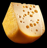 Emmental cheese head quater. — Stock Photo