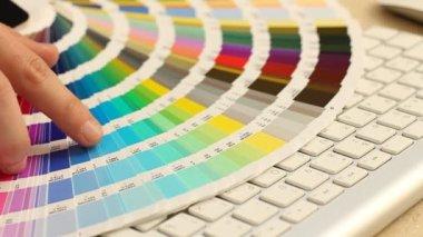 Color guide palette — Stock Video
