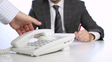 Business communication — Stock video