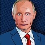 Постер, плакат: Vladimir Putin