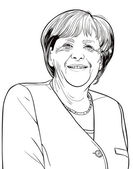 Angela Merkel — Stock Photo