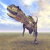 Dinosaur Yangchuanosaurus — Stock Photo