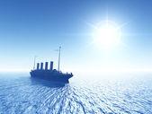 泰坦尼克号 — 图库照片