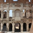 Stock Photo: The Colosseum, Detail