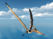 Flying Dinosaur Pteranodon — Stock Photo