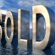 The Word SOLD — Stock Photo