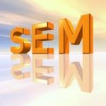 SEM - Search Engine Marketing — Stock Photo