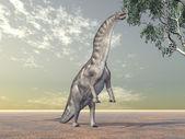Dinosaur Amargasaurus — Stock Photo