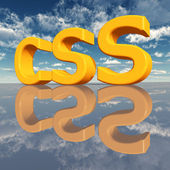 CSS – Cascading Style Sheets — Stock Photo