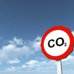 CO2 - Carbon Dioxide — Stock Photo